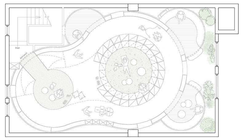 儿童阅读空间平面图