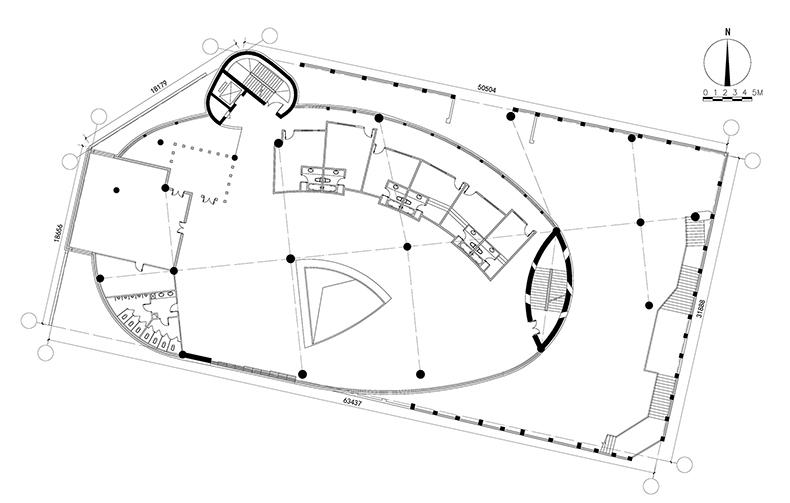 东庄 西域建筑馆 新疆玉点建筑设计 二层平面图