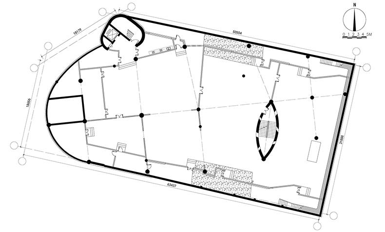 东庄 西域建筑馆 新疆玉点建筑设计 地下一层