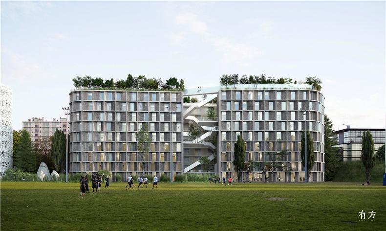 巴黎国际大学城中国之家非常建筑2