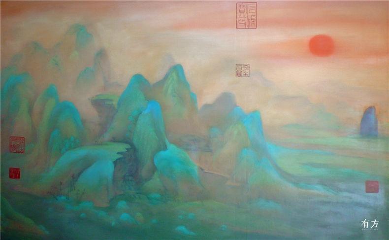 国画by Wang Mingxian