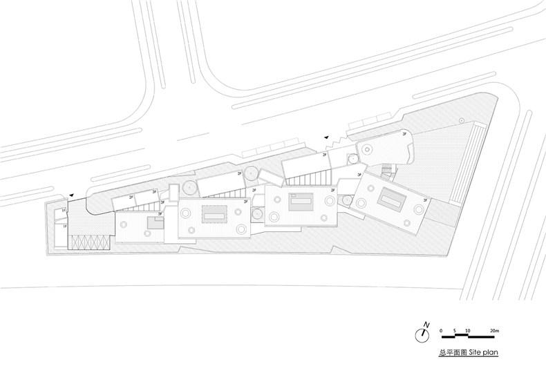 01 总平面图 Site plan
