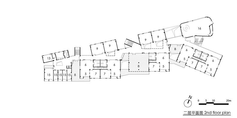 03 二层平面图 2F plan