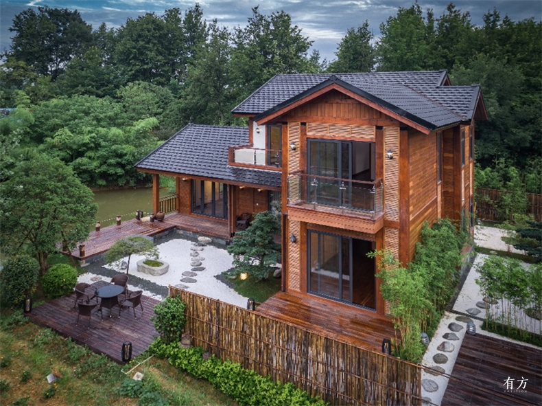 A户型中式别墅希望通过室内与室外的互动产生犹如写意山水般的意境2 副本
