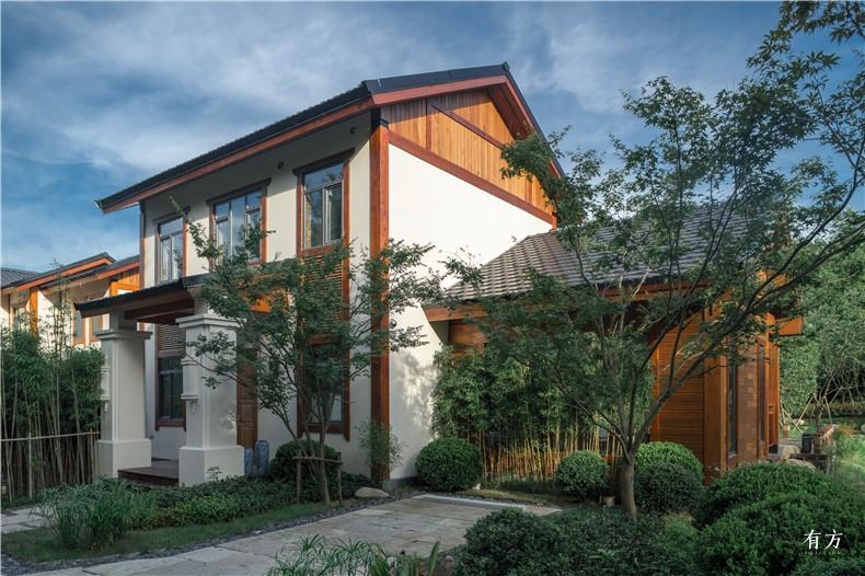 A户型中式别墅希望通过室内与室外的互动产生犹如写意山水般的意境3
