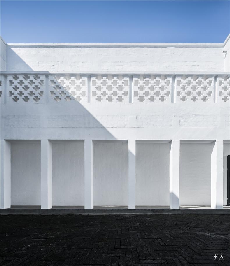 09 内院细微的砌筑纹理