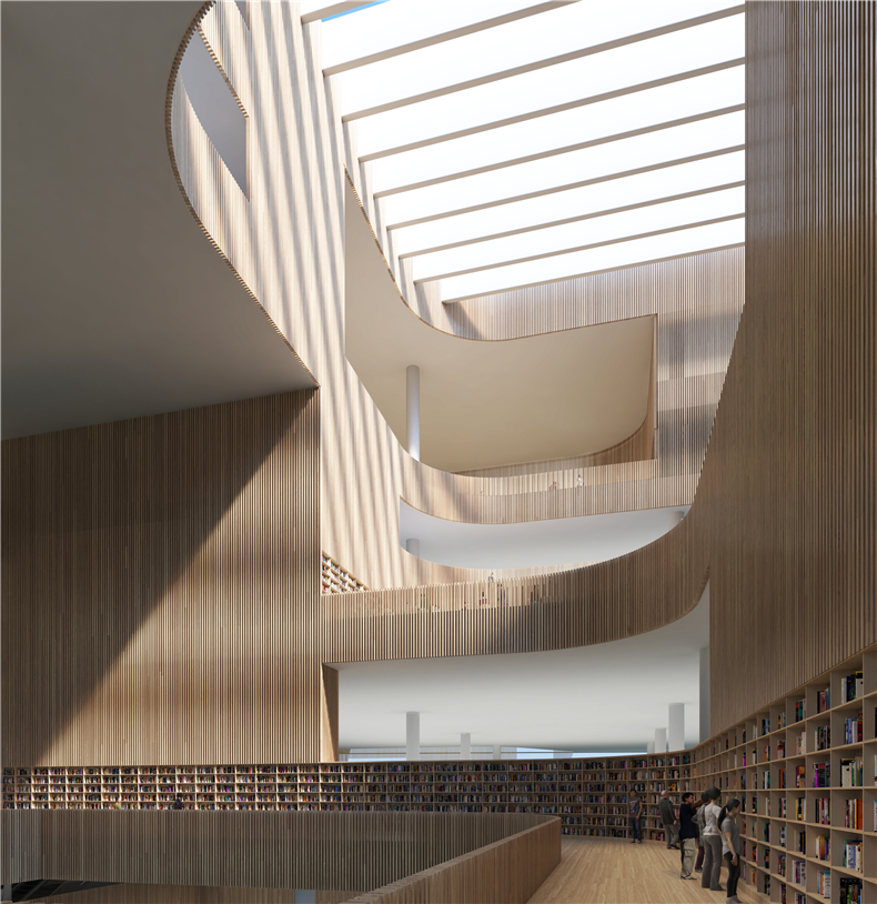 06 SHL Shanghai Library Interior D Image by SHL