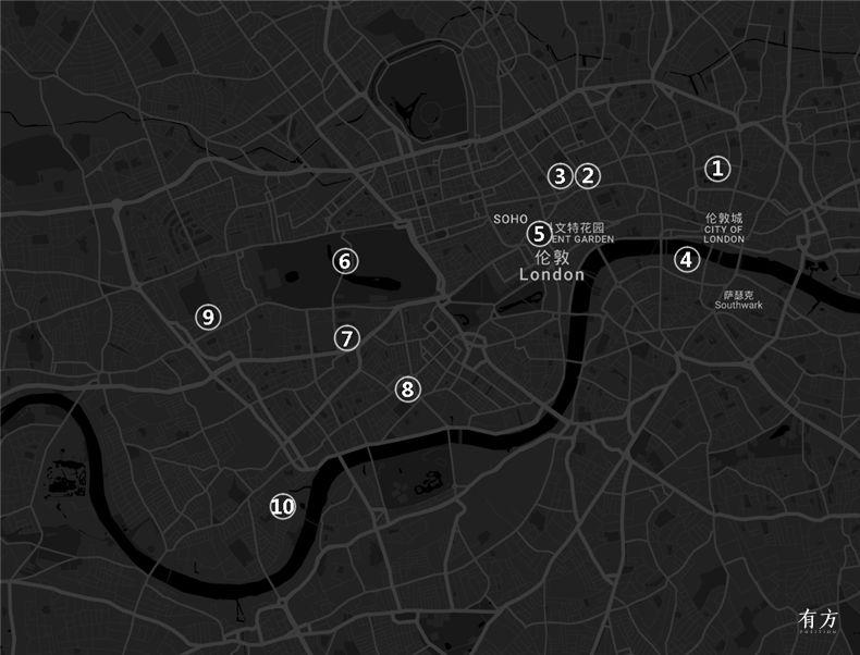 0伦敦建筑地图01