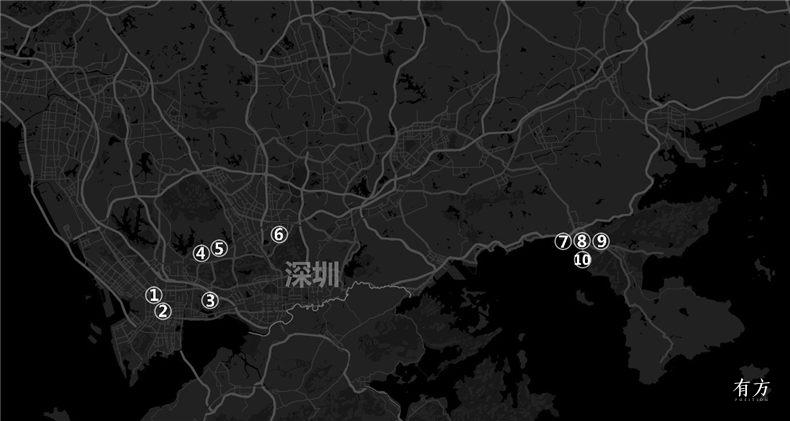 0建筑地图深圳01